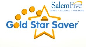 Salem Five Gold Star Saver