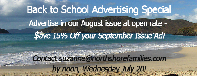Back to School Ad Special 2016