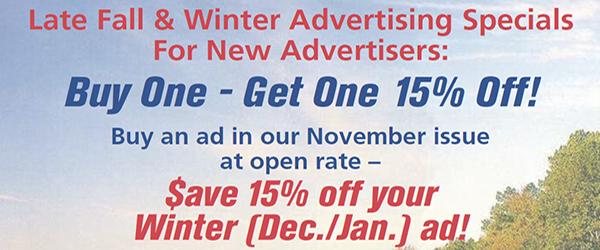 Fall / Winter Ad Specials