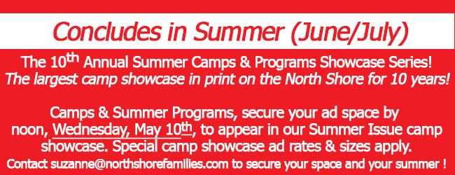 Summer Camps & Programs Advertising Deadline
