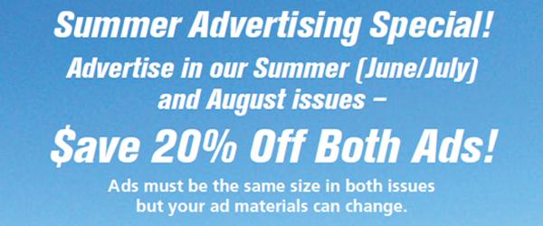 Summer Advertising Special